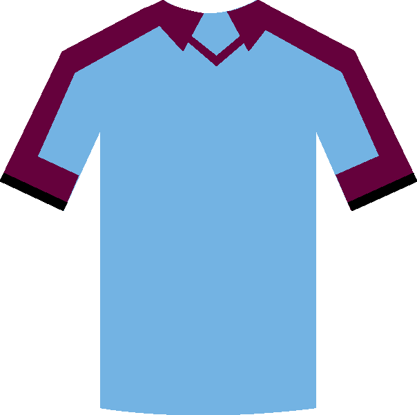 Burnley away shirt