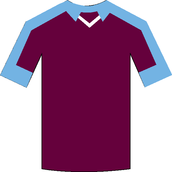 Burnley home shirt
