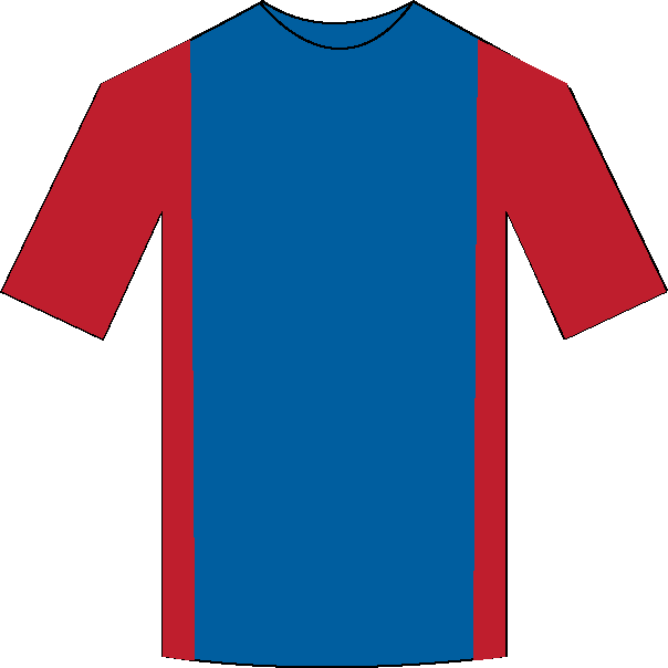 Crystal Palace home shirt