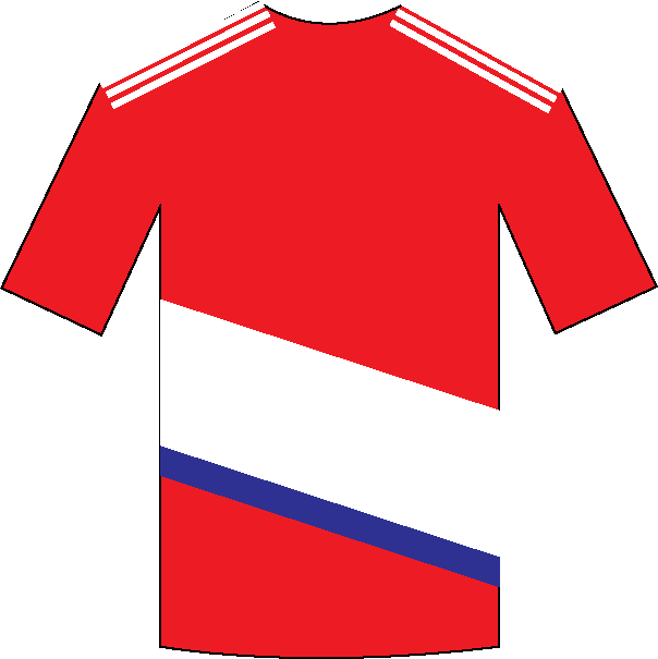 Middlesbrough home shirt