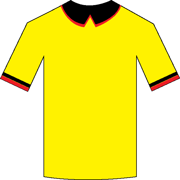 Watford home shirt