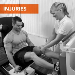 man-lady-physio-injuries-bw