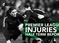 Premier League Injuries – Half Term Report