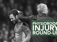 PhysioRoom.com Weekly Injury Round-Up 19/5