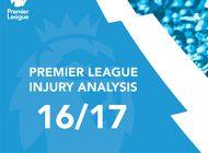 English Premier League Injury Analysis: 2016/17 Season