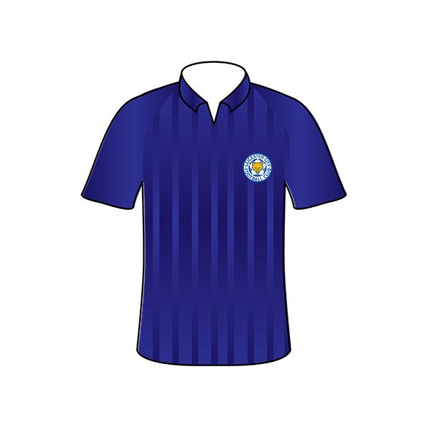 Leicester City home shirt