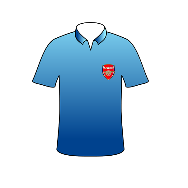 Arsenal away shirt