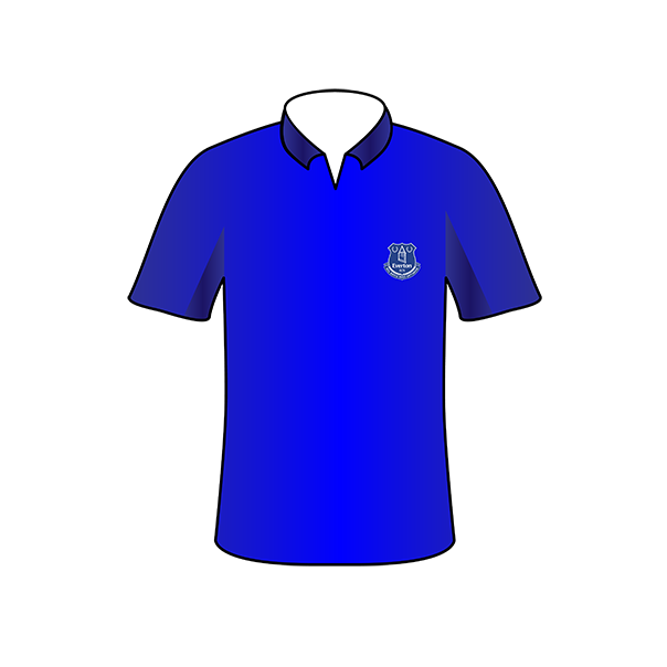Everton home shirt