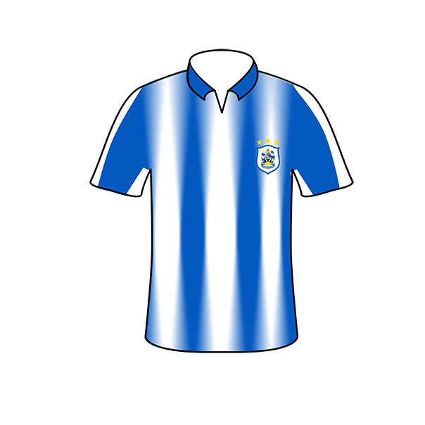 Huddersfield Town home shirt