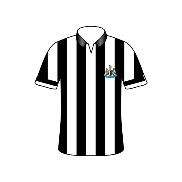 Newcastle United home shirt