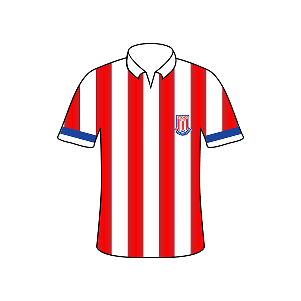Stoke City home shirt