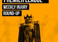 PhysioRoom Weekly Injury Round-Up – 13/10/17