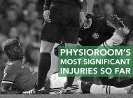 PhysioRoom's Most Significant Injuries of the Season So Far