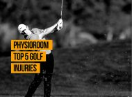 PhysioRoom's Top 5 Golf Injuries