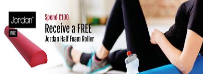Free Half Foam Roller (Jordan)